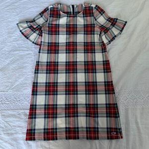 EUC VIneyard vines tartan dress M